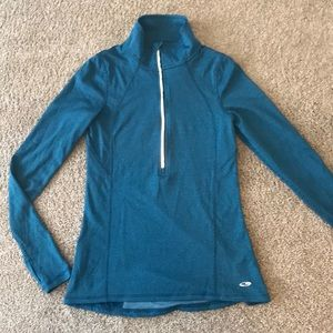 3/4 Zip workout champion dry fit hoodie